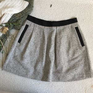 French Connection Grey Skirt Sz 8